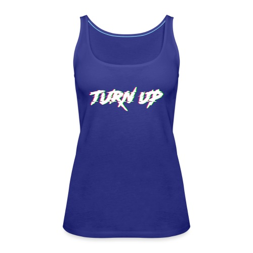 TURN UP - Frauen Premium Tank Top