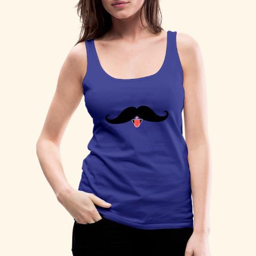 Fresh Moustache - Frauen Premium Tank Top