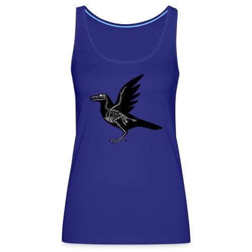 Raben-Skelett - Camiseta de tirantes premium mujer