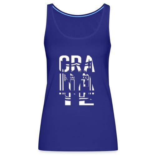 PIEL GRANATE - Camiseta de tirantes premium mujer