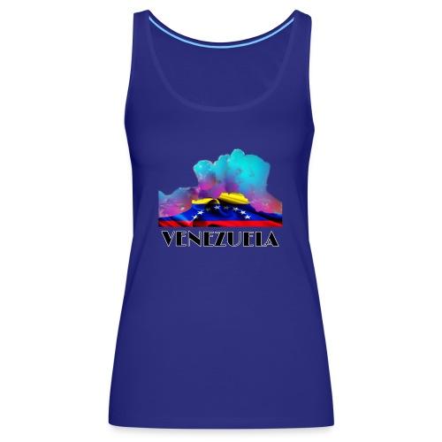 Venezuela Auyantepui colors - Camiseta de tirantes premium mujer