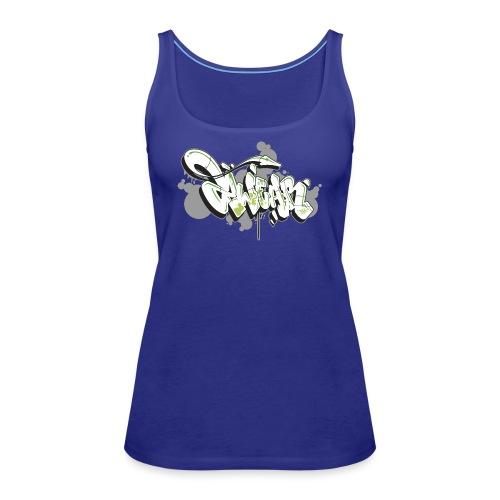 Mesk 2Wear graffiti style 7up ver02 - Dame Premium tanktop