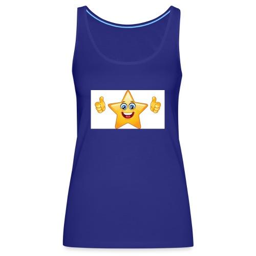 star-smiley-234 - Canotta premium da donna