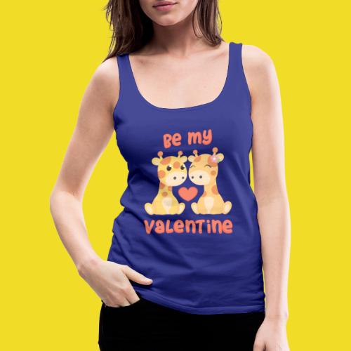Be my valentine - Vrouwen Premium tank top