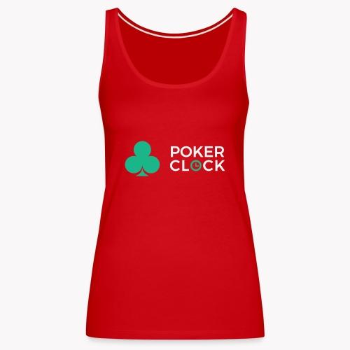 Poker Clock Logo - Frauen Premium Tank Top