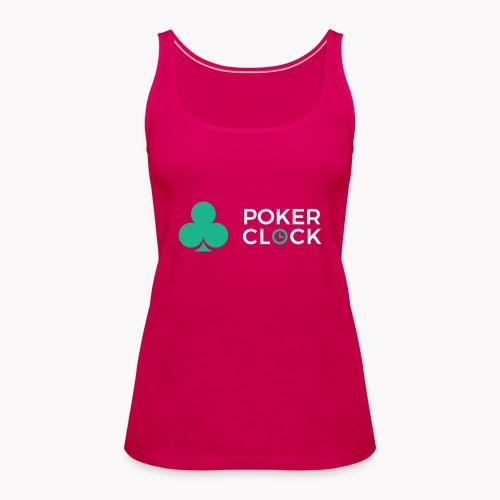 Poker Clock Logo - Frauen Premium Tank Top