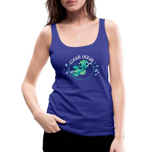 Clean Ocean - Women's Premium Tank Top