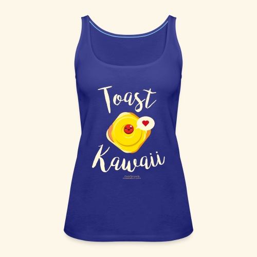 Toast Kawaii Geek Design - Frauen Premium Tank Top
