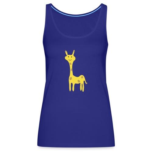 Kinder Comic - Giraffe - Frauen Premium Tank Top