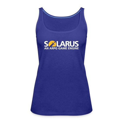 Solarus engine logotype - Débardeur Premium Femme