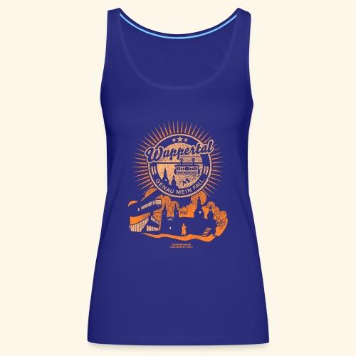 Wuppertal Genau mein Fall T Shirt Design - Frauen Premium Tank Top