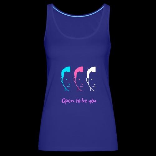 Openminded - Camiseta de tirantes premium mujer