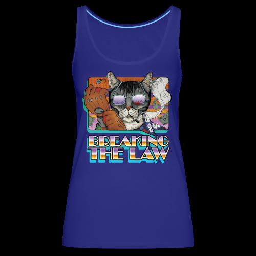 Crime Cat in Shades - Braking the Law - Tank top damski Premium
