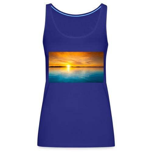 sunset - Camiseta de tirantes premium mujer
