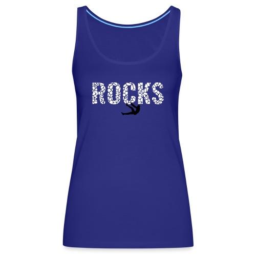 Rocks_4 - Frauen Premium Tank Top