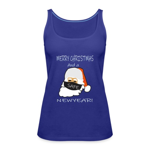 Merry christmams and a safe newyear - Vrouwen Premium tank top