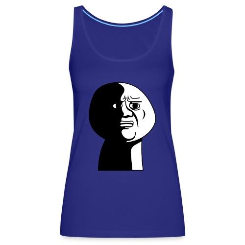angustiado - Camiseta de tirantes premium mujer