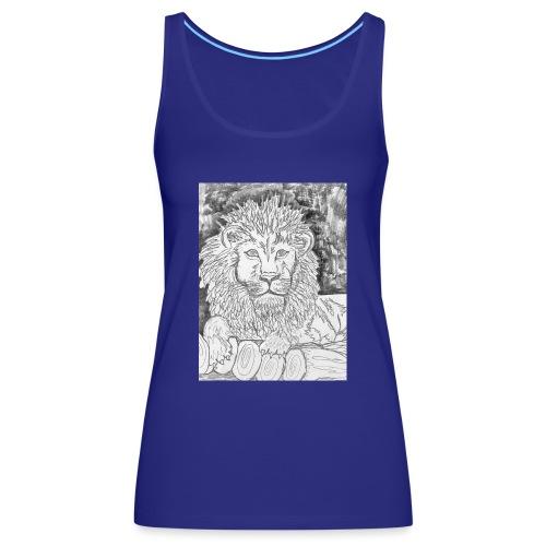 leone - Canotta premium da donna