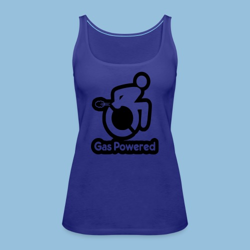Gas Powered Wheelchair 001 - Vrouwen Premium tank top
