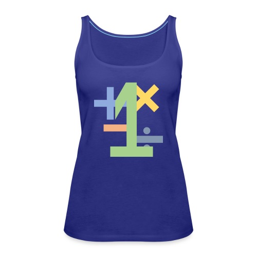Math logo - Women's Premium Tank Top
