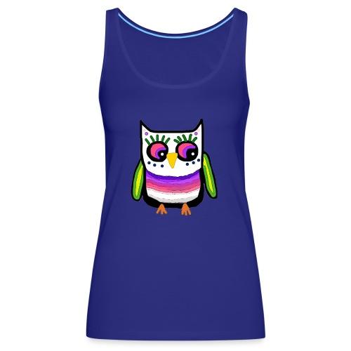 Colorful owl - Women's Premium Tank Top