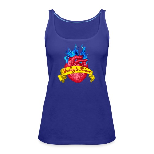 Shelley s Heart Logo - Women's Premium Tank Top