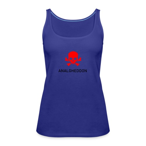ANALGHEDDON Lustiges T-Shirt Design - Frauen Premium Tank Top