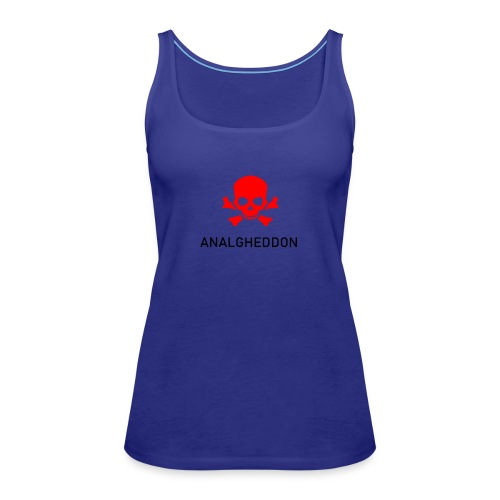 ANALGHEDDON Lustiges T-Shirt Design - Frauen Premium Tank Top
