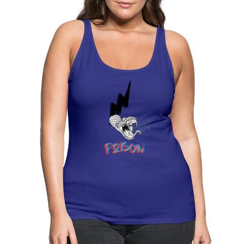 snake poison - Camiseta de tirantes premium mujer