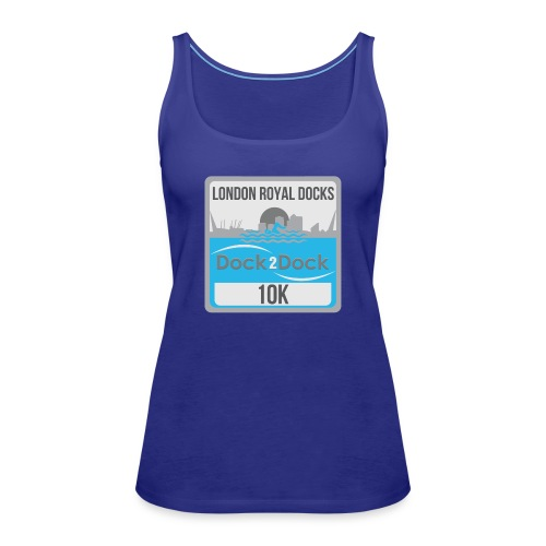 DOCK 2 DOCK CLASSIC BADGE - Women's Premium Tank Top
