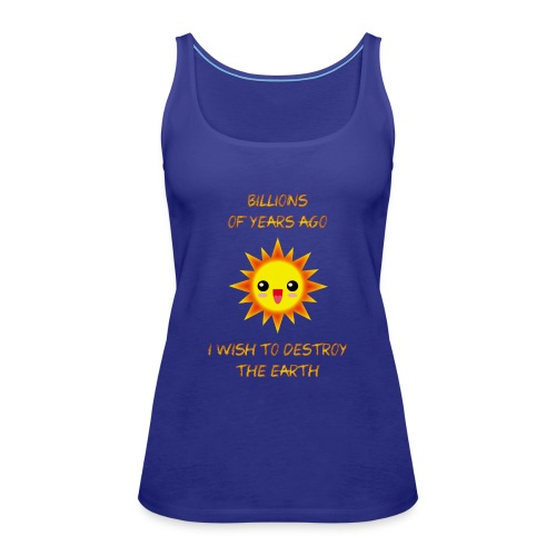 SOL KAWAII sin brillo exterior X - Camiseta de tirantes premium mujer