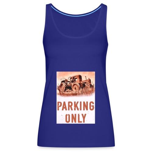 deutz hanomag parking only - Frauen Premium Tank Top