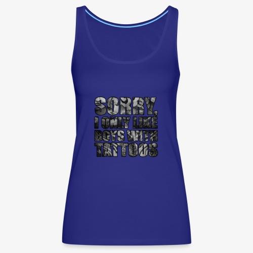 sorry boys - Camiseta de tirantes premium mujer