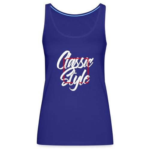 Classic style B - Camiseta de tirantes premium mujer