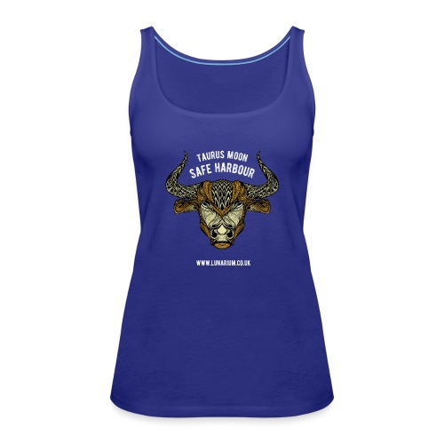 Taurus Moon Dark - Women's Premium Tank Top