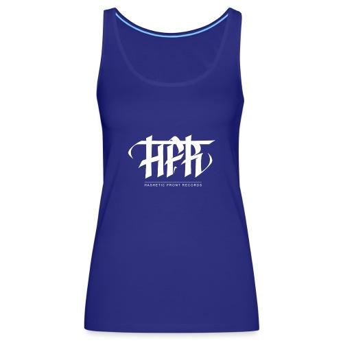 HFR - Logotipi vettoriale - Canotta premium da donna