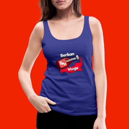 SerkanKetchupVlogs Logo 2.0 (NIEUW!) - Vrouwen Premium tank top