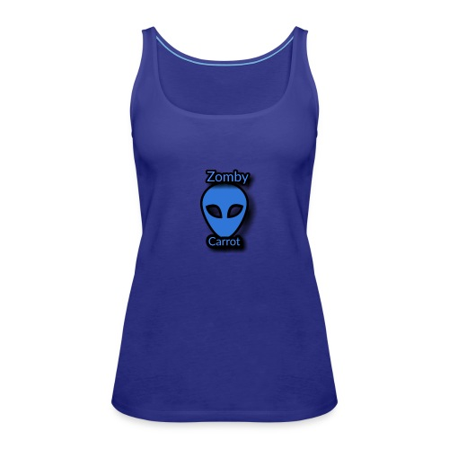 Zomby Carrot merch - Women's Premium Tank Top