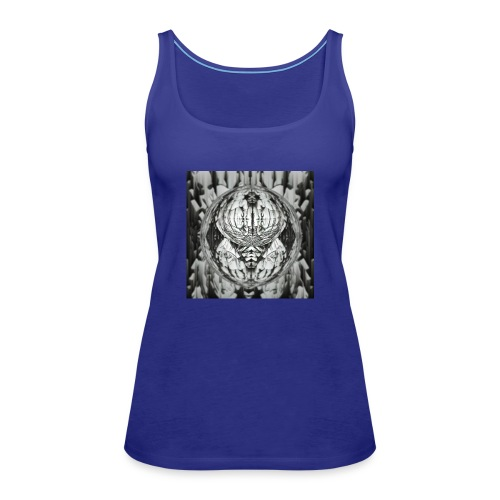 UFO alien - Frauen Premium Tank Top
