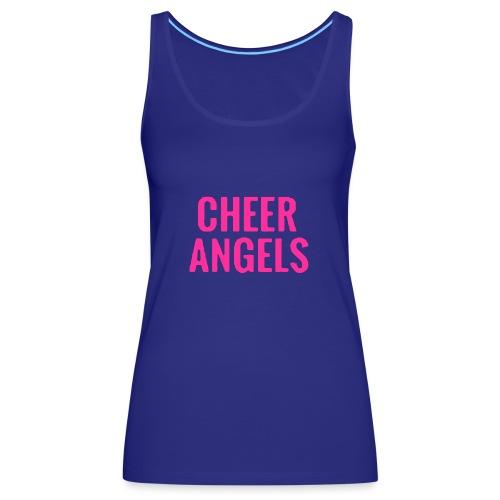 Cheer angles Pink - Naisten premium hihaton toppi