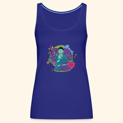pranayama - Camiseta de tirantes premium mujer