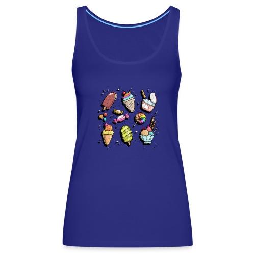 Dulces - Camiseta de tirantes premium mujer