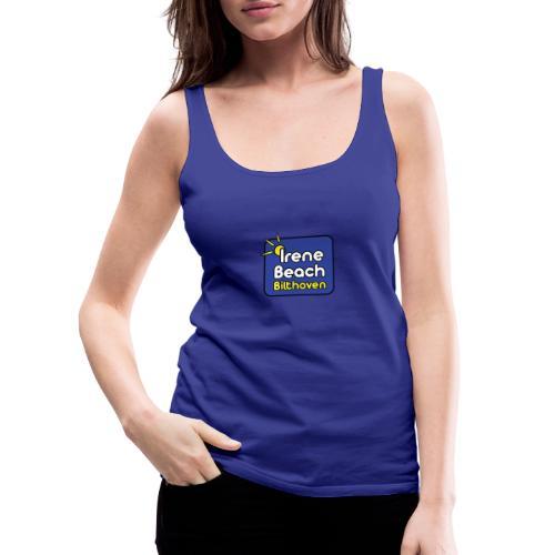 Irene Beach logo 2 - Vrouwen Premium tank top