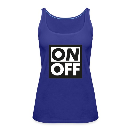 Logotype On Off Etienne Robial - Dame Premium tanktop