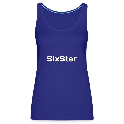 SixSter - Tank top damski Premium