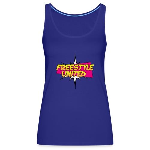 Logo Freestyle United - Vrouwen Premium tank top