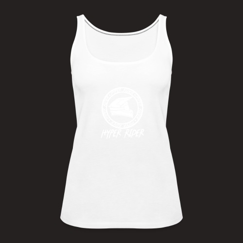 white back - Frauen Premium Tank Top