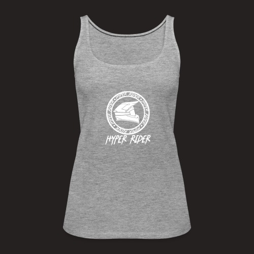 white back - Frauen Premium Tank Top