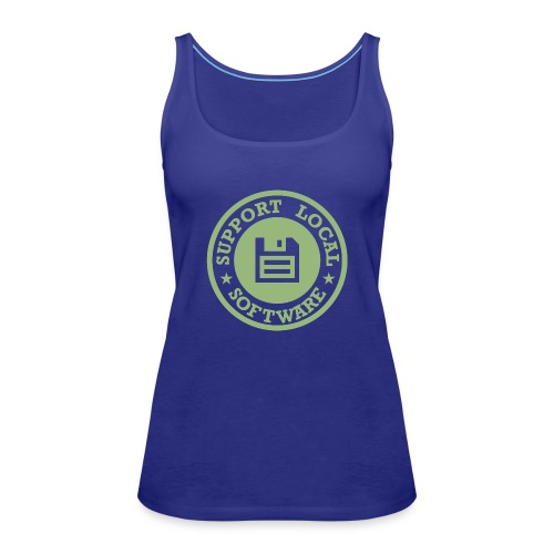 Support Local Software - Women's Premium Tank Top