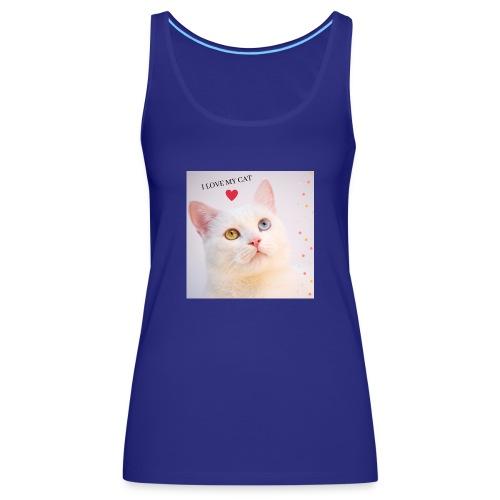 TROY CAT - Camiseta de tirantes premium mujer